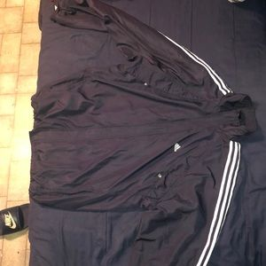 Men's Navy Blue Adidas Jacket, perfect condition